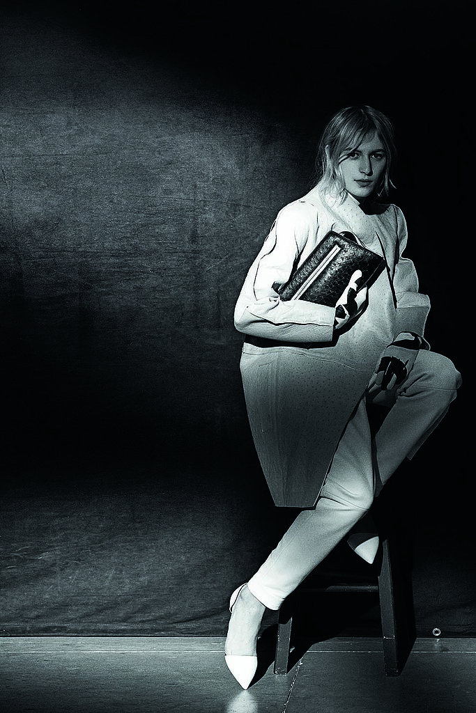 Julia Nobis, wearing Proenza Schouler, photographed by Peter Lindbergh. Photo courtesy of the CFDA