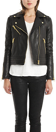 Rag & Bone Bowery Convertible Leather Jacket