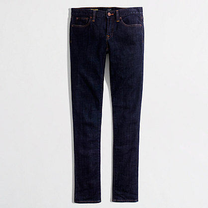 Factory skinny ankle jean in classic rinse