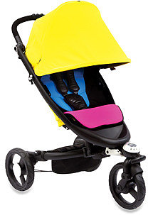 Bloom Zen All-Terrain Stroller - Cyan & Magenta