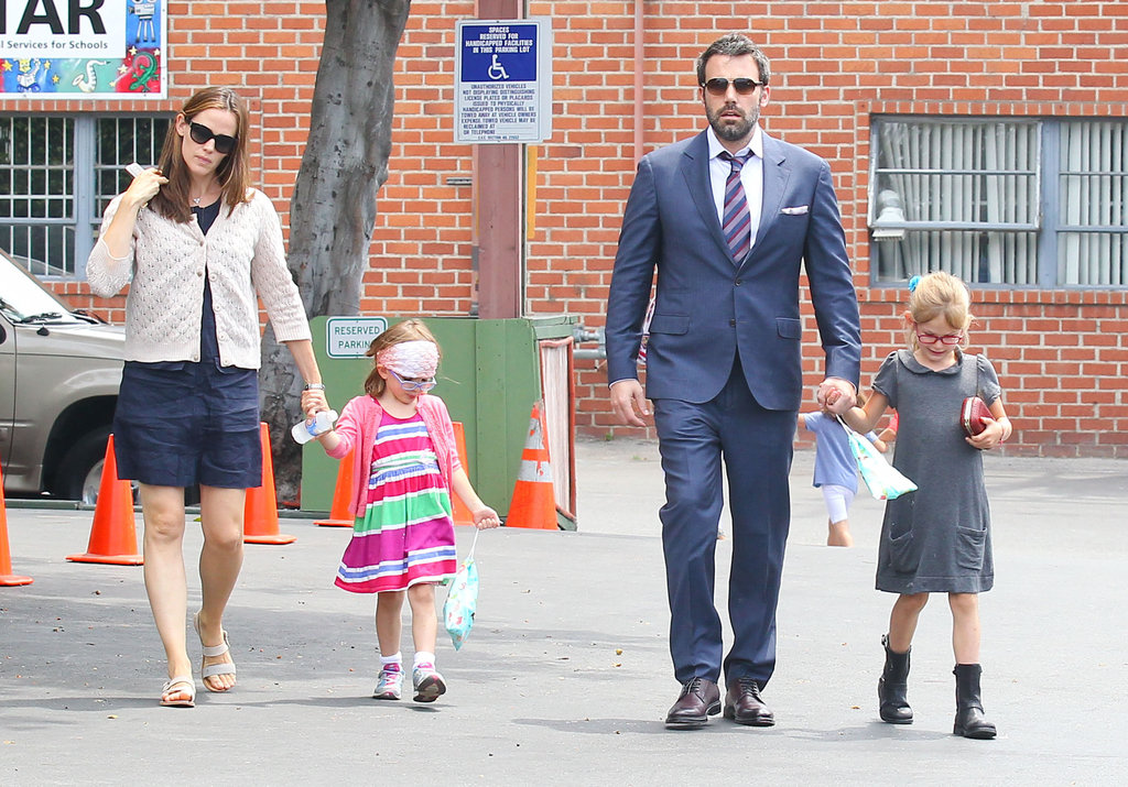 Ben Affleck, Jennifer Garner, and their kids made their way to a museum.