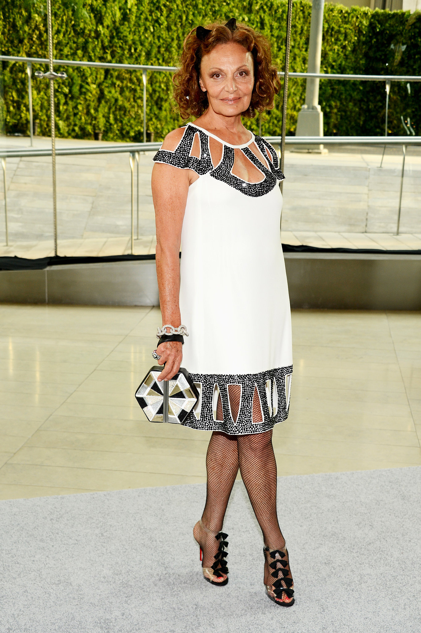 Diane von Furstenberg at the 2013 CFDA Awards.