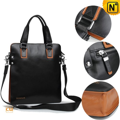 Mens Leather Messenger Bag CW913255 - cwmalls.com