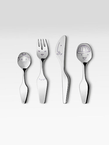 Georg Jensen The Twist Family Kids 4-Pc. Cutlery Set