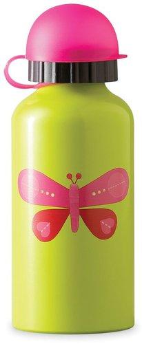 Crocodile Creek 10oz. Stainless Steel Drinking Bottle - Pink Butterfly