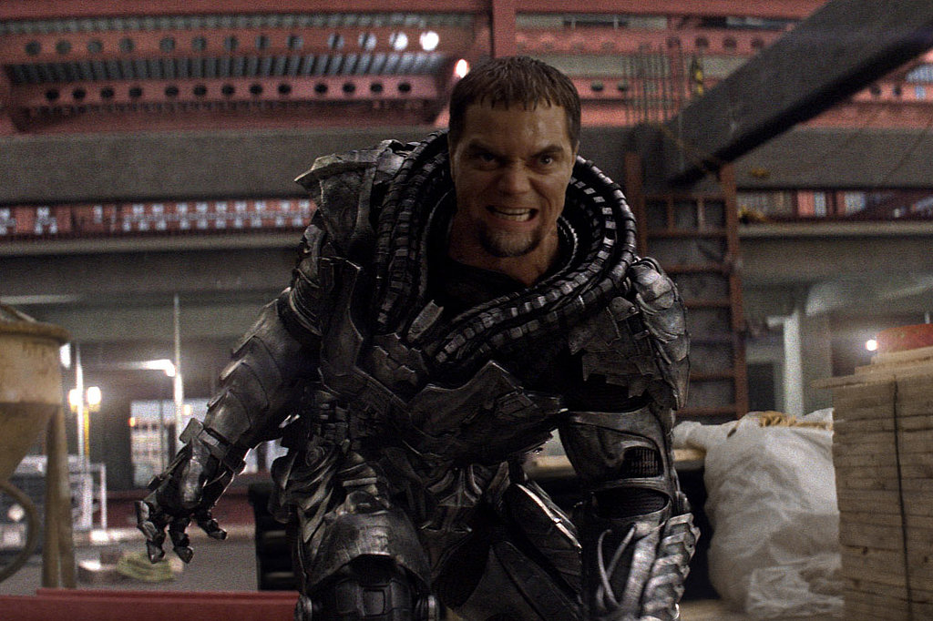 Michael Shannon in Man of Steel.