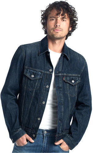 Levi's Jacket, Gridlock Trucker Denim Jacket