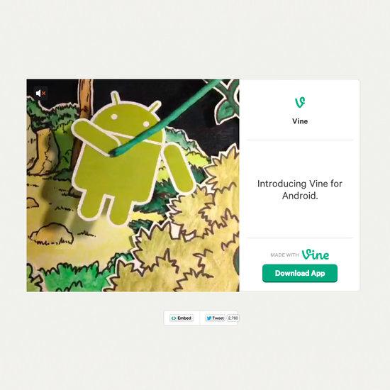 Vine Android App
