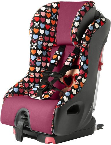 Clek Foonf Convertible Car Seat-Paul Frank Heart Shades