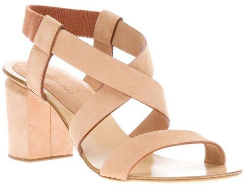 Roberto Del Carlo chunky heel sandal