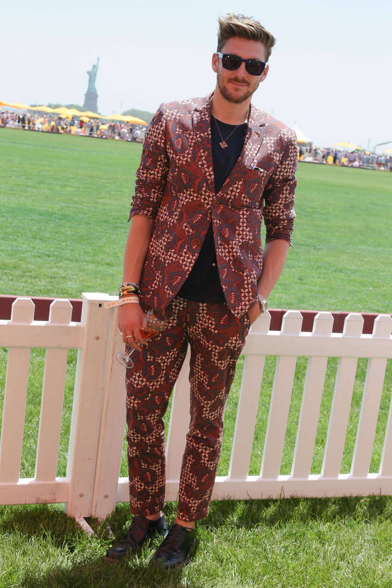 Henry Holland at the sixth annual Veuve Clicquot Polo Classic in Jersey City, NJ.  Source: David X Prutt