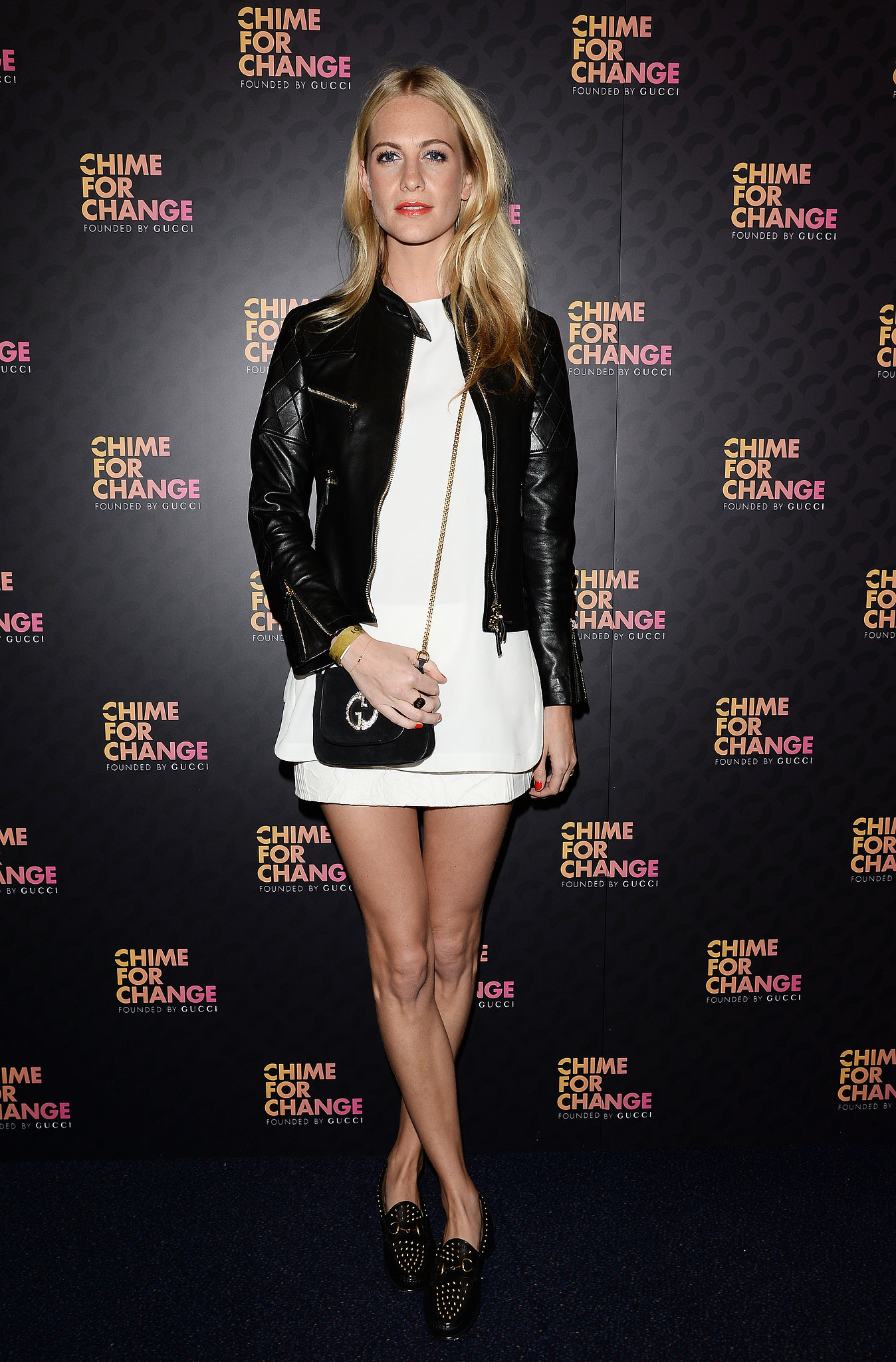 Poppy Delevingne at the Chime For Change: The Sound of Change Live concert, presented by Gucci, in London.