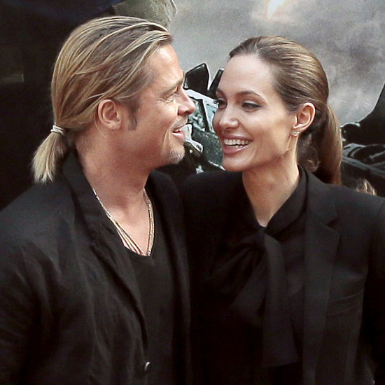 Brad Pitt and Angelina Jolie at World War Z Paris Premiere