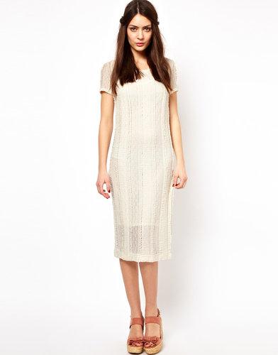 Ganni Snowbird Dress