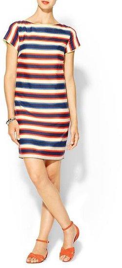 Pim + Larkin Woven Stripe Shift Dress