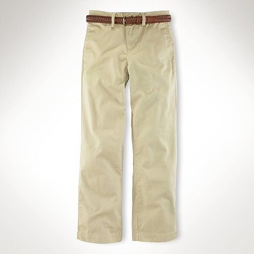 Suffield Flat-Front Chino Pant