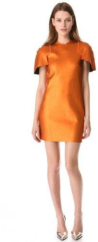 Ellery Cap Sleeve Reversible Dress