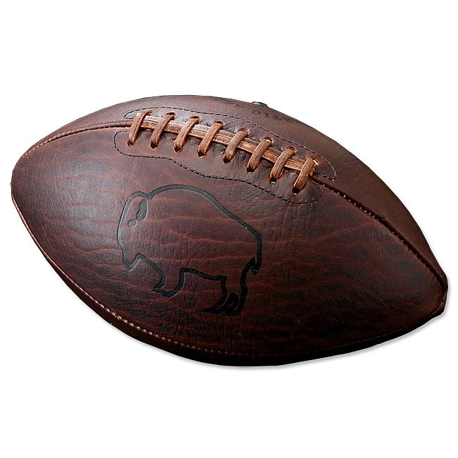 For the Football Fan: Bison Leather Football