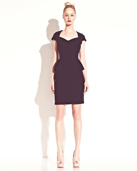 No Zip Peplum Dress
