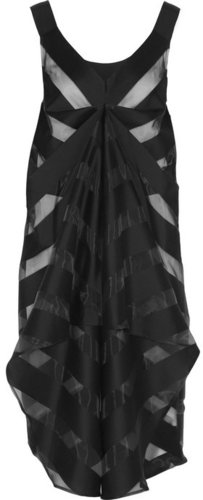 Zero+MariaCornejo Looma two-way twill and voile dress