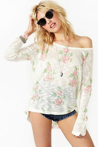 Rosebud Knit