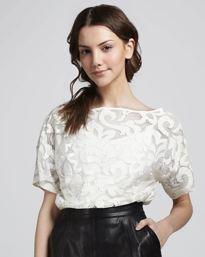 Milly Cropped Top, White