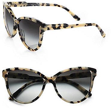 Stella McCartney Butterfly Acetate Sunglasses