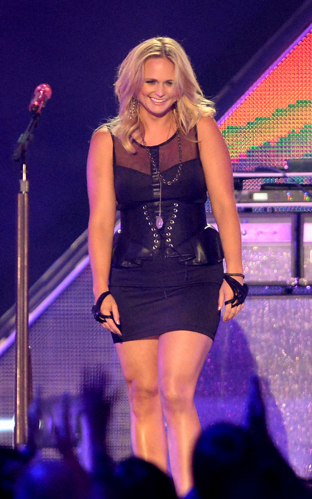 Miranda Lambert took the stage.
