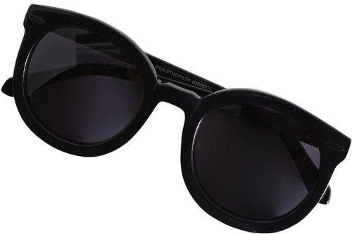 Super Duper Sunglasses in Black