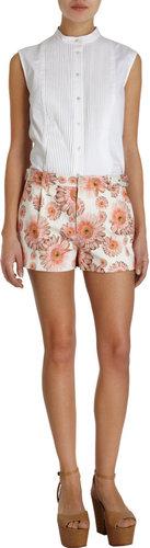 RHIÉ Daisy Print Shorts