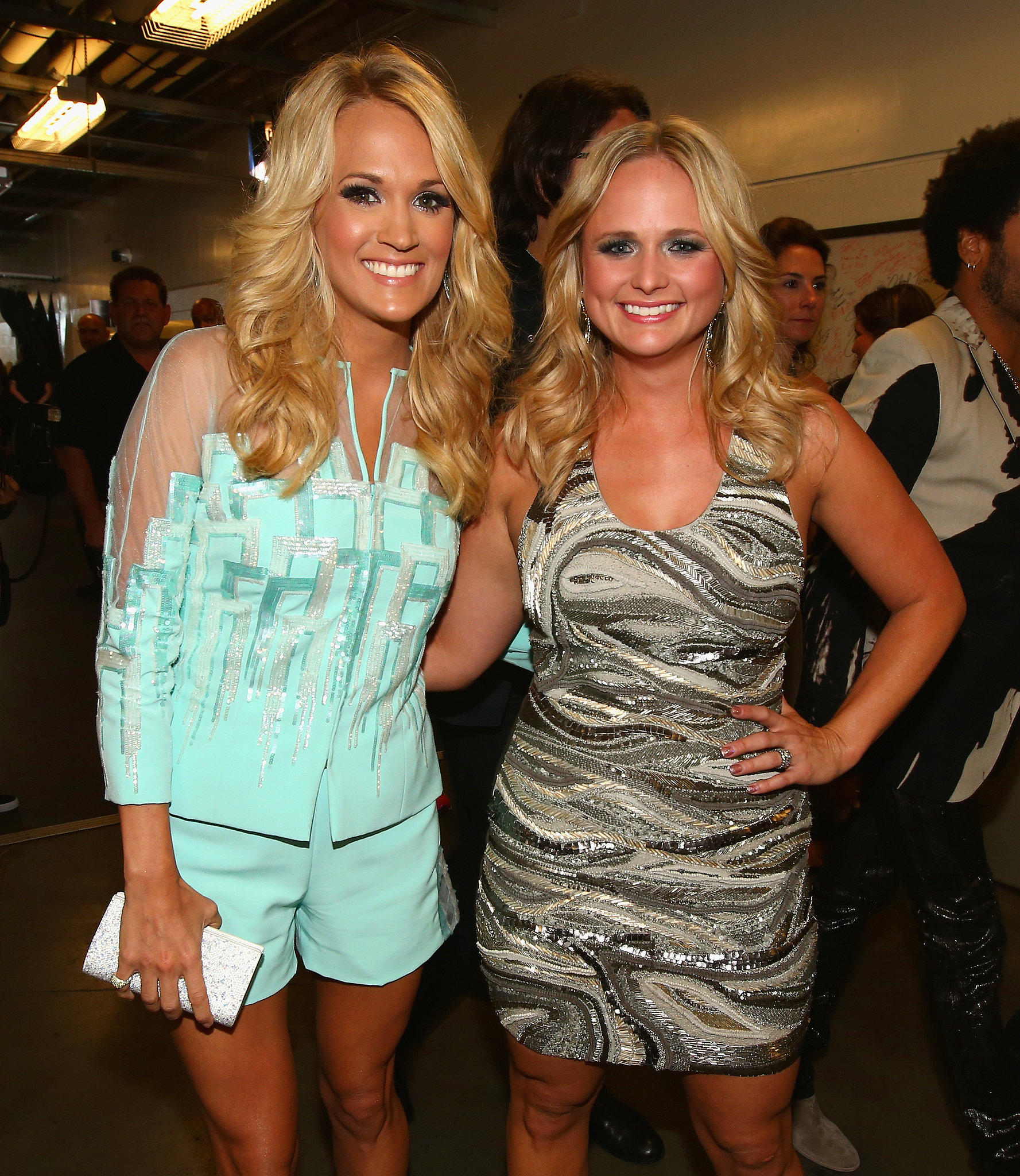 Carrie Underwood And Miranda Lambert Posed Together