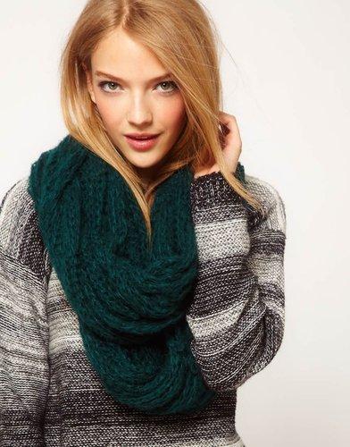 ASOS Textured Knit Snood