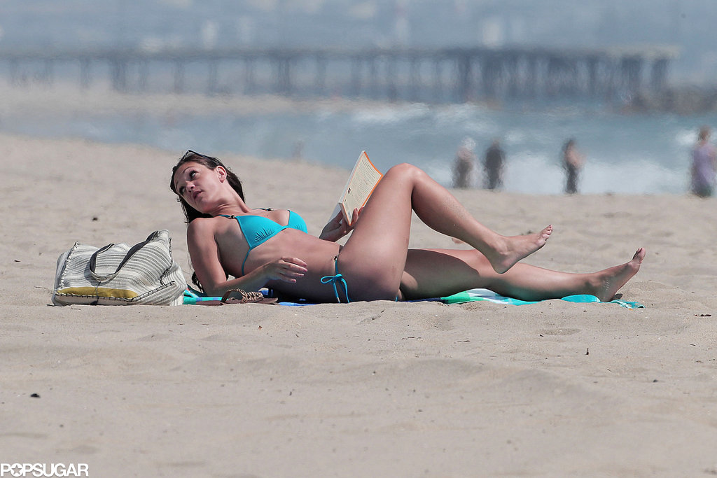 Desiree Hartsock hung out in LA.
