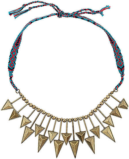 Just like a friendship bracelet, except this Topshop Arrow Friendship collar ($30) makes a bit more of a statement.