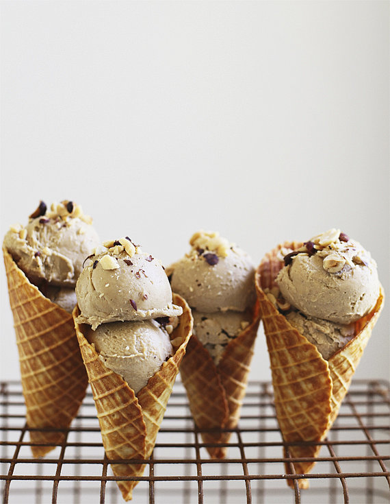 Caramelized Banana and Peanut Butter Ice Cream