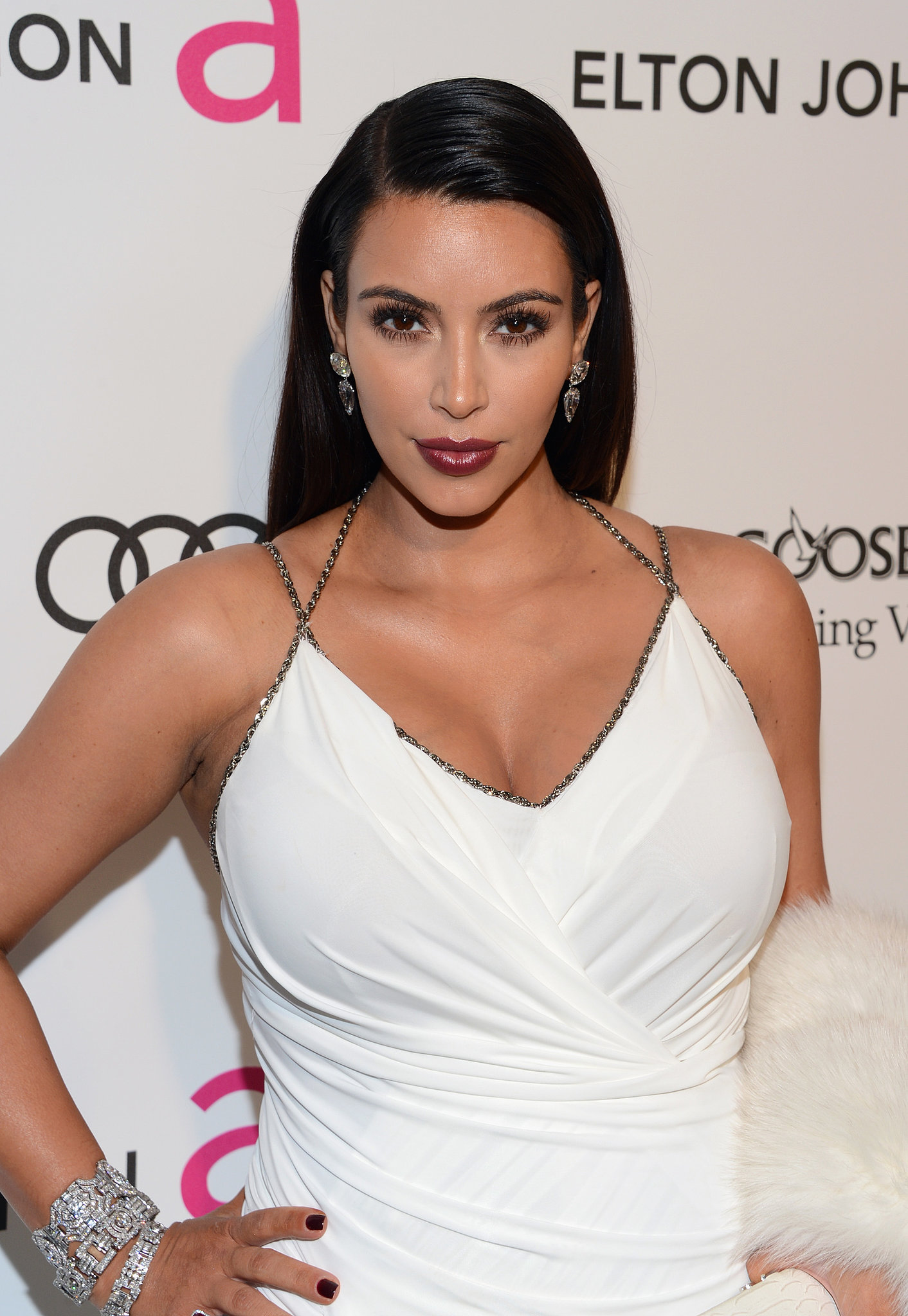 """Kim wasn't believing the hype from other expecting mothers when she spoke to ET Online in January: """"When people say that pregnancy is fun and they love it, I would have to disagree."""""""