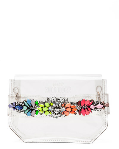 Shourouk Clutch in Rainbow