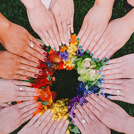 30 Over the Rainbow Wedding Ideas