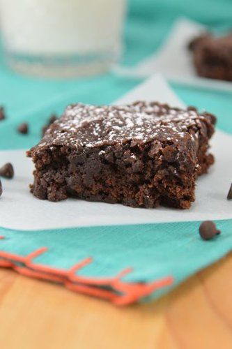 Double Chocolate Vegan Brownies