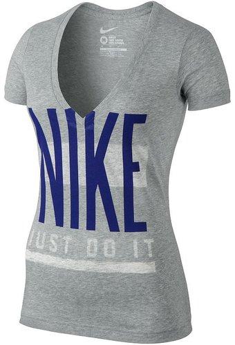 "Nike ""just do it"" deep-v tee"
