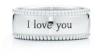 "Tiffany Yours ""I Love You"" ring"