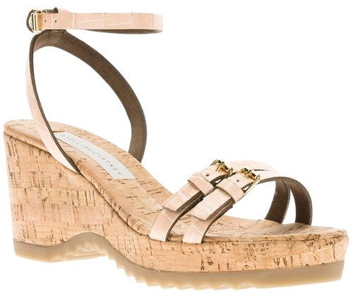 Stella Mccartney 'Linda' wedge sandal
