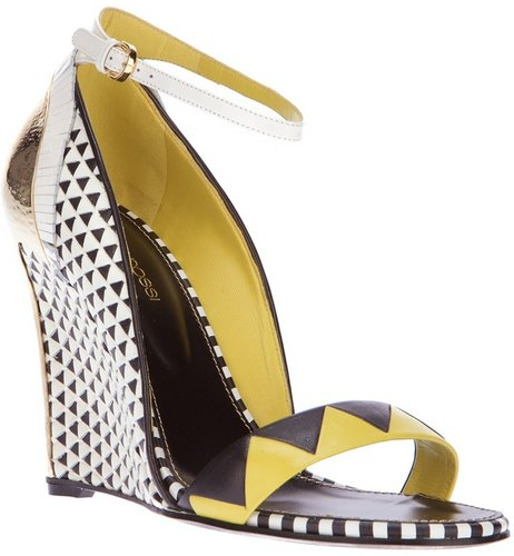 Sergio Rossi wedge sandals