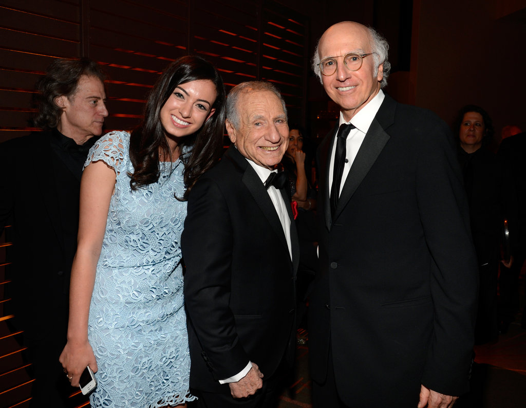 Photo of Larry David & his  Daughter  Cazzie David