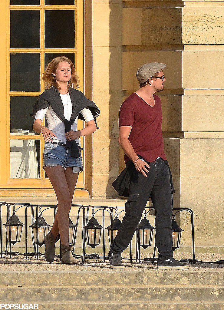 Toni Garrn ran after Leonardo DiCaprio.