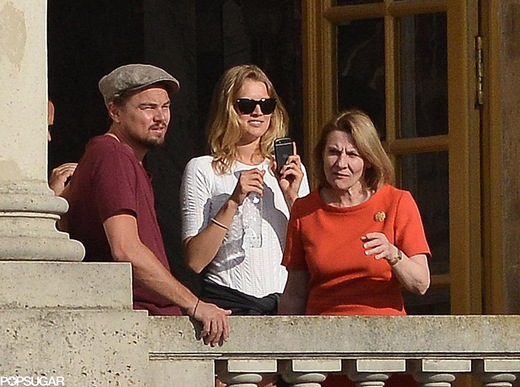 Leo Visits Versailles With His Rumored Girlfriend Toni Garrn