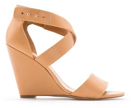 Touch - Leather Wedge Sandals