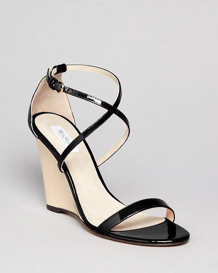 Max Mara Wedge Sandals- Ercole Strappy