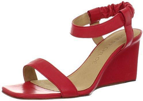 See By Chloe Women's SB20088 Wedge Sandal
