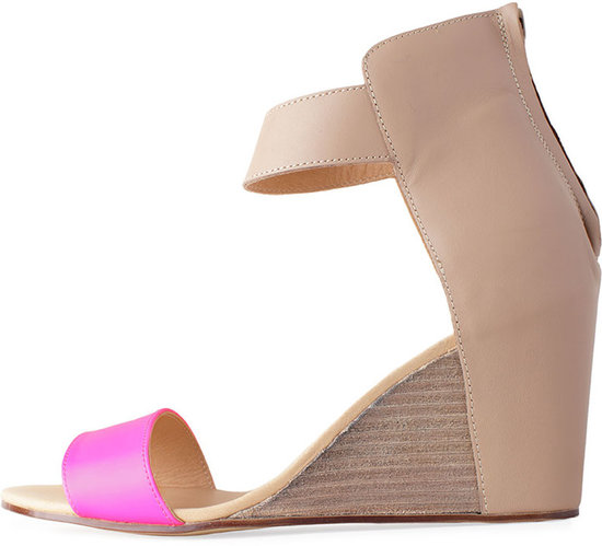 MM6 by Maison Martin Margiela / Colorblock Wedge